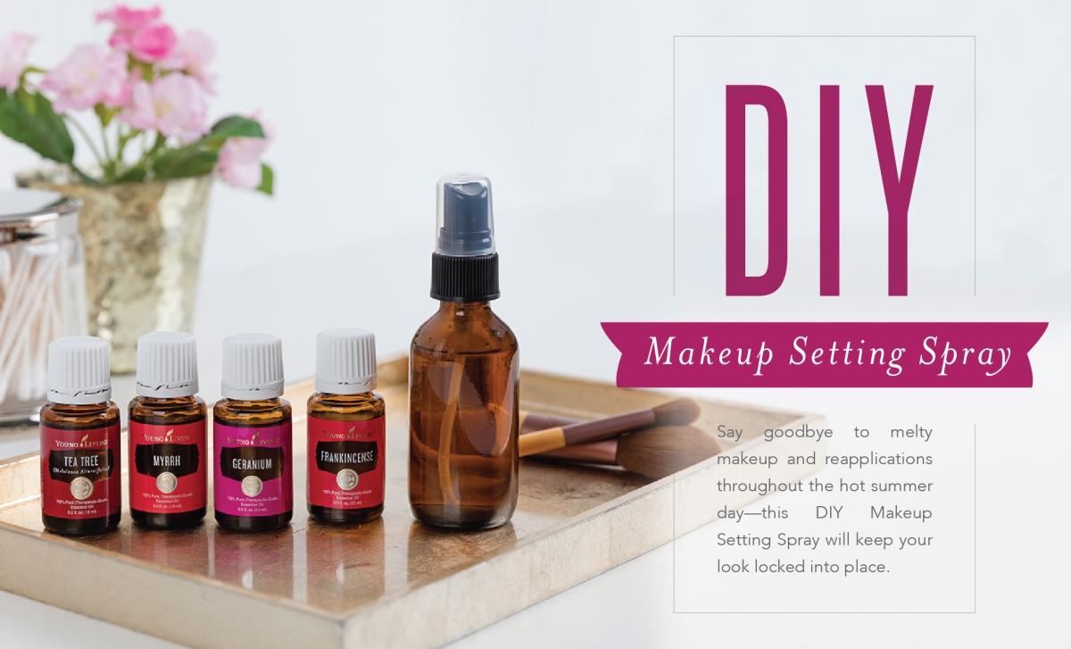 Diy Makeup Setting Spray Scentsable Living