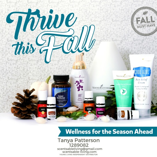 Thrive this fall with Young Living!