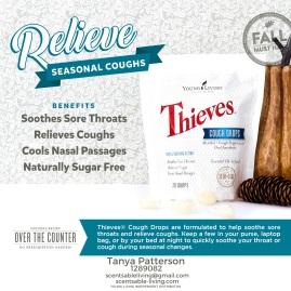 Relieve Seasonal Coughs with Thieves Cough Drops