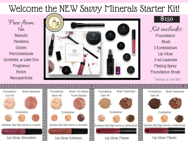 ANNOUNCING the NEW Savvy Minerals Starter Kit!!! (2)