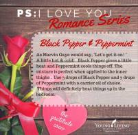 Black Pepper and Peppermint