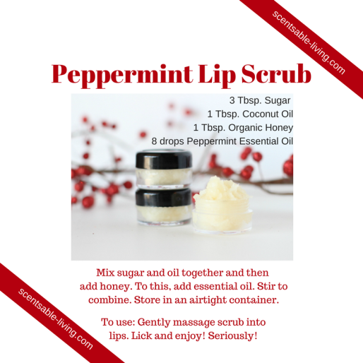 8 drops Peppermint essential oil