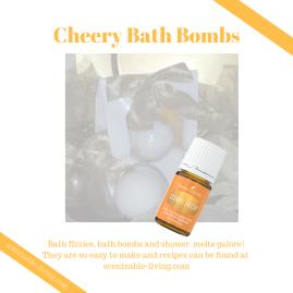 Cheery Bath Bombs