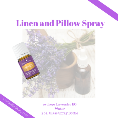 Lavender Linen Pillow Spray