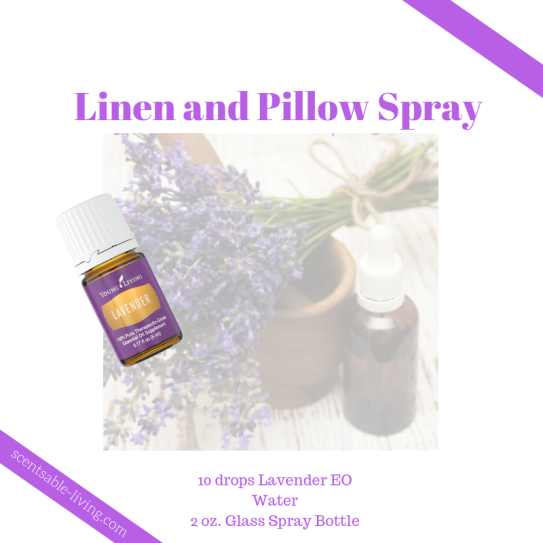 Lavender Linen Pillow Spray