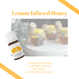 Lemon Infused Honey