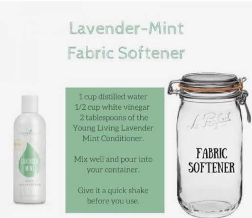 4. Fabric softener