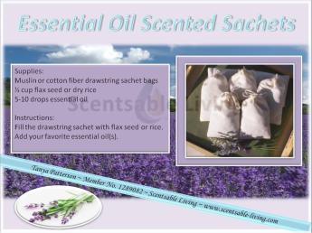 7. Scented Drawer Sachets